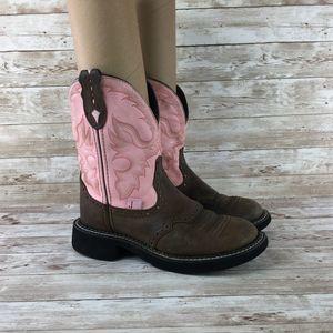Justin Gypsy Western Boot Womens 5.5